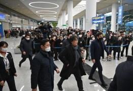Diretor de 'Parasita' é recebido como herói na Coreia do Sul