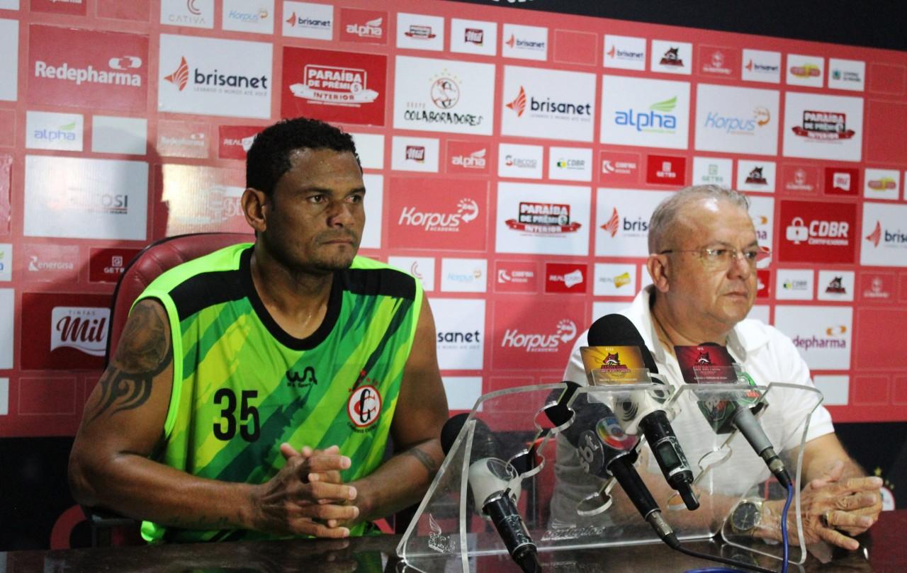 1 3 scaled - Dorgival Pereira confirma regularização do atacante Fabio Junior no Campinense