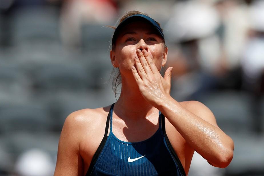 2018 06 02t122400z 517424836 rc15abe1de10 rtrmadp 3 tennis frenchopen BUowIJC - Maria Sharapova anuncia fim da carreira de tenista após longa luta contra lesões
