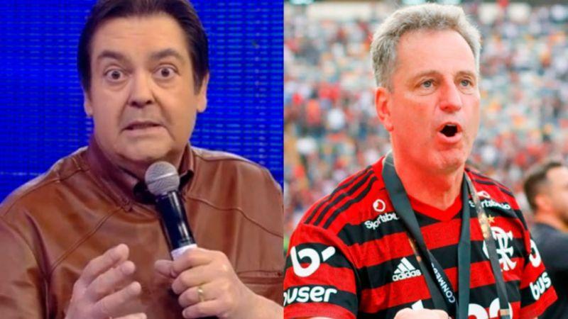 7b87d6d43eb68e29566f1c51854196d1 - No Domingão do Faustão: Globo exibe direito de resposta do Flamengo após críticas do apresentador contra o time - VEJA VÍDEOS