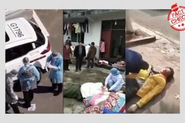 FAKENEWS A FAVOR DO TERROR: Vídeo mostra operação que mandou matar 20 mil pessoas infectadas com coronavírus
