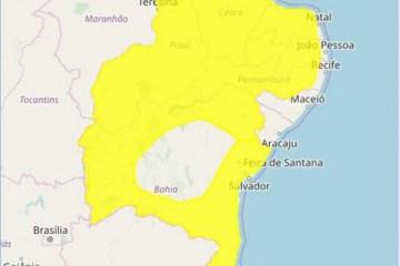 ALERTA CHUVAS - Inmet emite alerta de chuvas intensas para Campina Grande e outras 210 cidades da Paraíba
