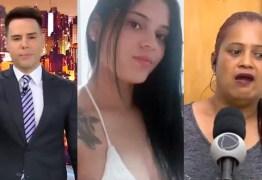 Depois de anunciar ao vivo morte à mãe da vítima, Luiz Bacci diz ter sofrido ameaças