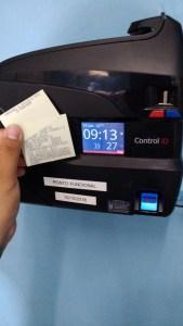 Biometria Ecos2 169x300 - Ecos implanta ponto biométrico nas escolas e reduz falta e abandono de postos de trabalho