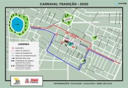 Semob-JP define plano de circulação para os desfiles do Carnaval Tradição