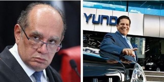 Capturar 40 - LAVA JATO: Ministro Gilmar Mendes anula busca e apreensão feito pela PF na casa de empresário paraibano