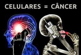 Uso de celulares e o câncer têm ligação, segundo estudo