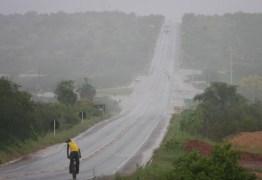 CHUVAS INTENSAS: Inmet emite alerta para todas as cidades da Paraíba