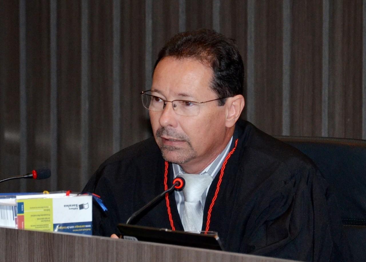 Des Leandro dos Santos 23 01 15  20 - FICOU PARA PRÓXIMA SEXTA: Desembargador muda data de audiência entre estado e polícia no Tribunal de Justiça