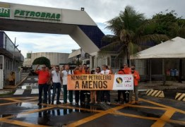Petroleiros entram no 3° dia de greve em protesto contra demissões