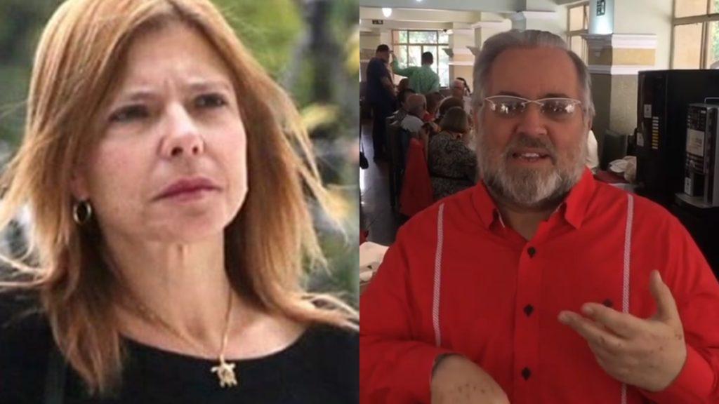 Rose Miriam e Leão Lobo 1024x576 1 - Rose Miriam quer que Leão Lobo pague R$50 mil após ele dizer que ela 'nunca foi' casada com Gugu