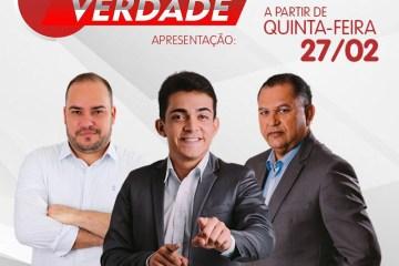 WhatsApp Image 2020 02 23 at 12.07.39 - ARAPUAN FM: Bruno Pereira, Washington Luís e Henrique Lima comandam 'Paraíba Verdade' a partir de quinta-feira