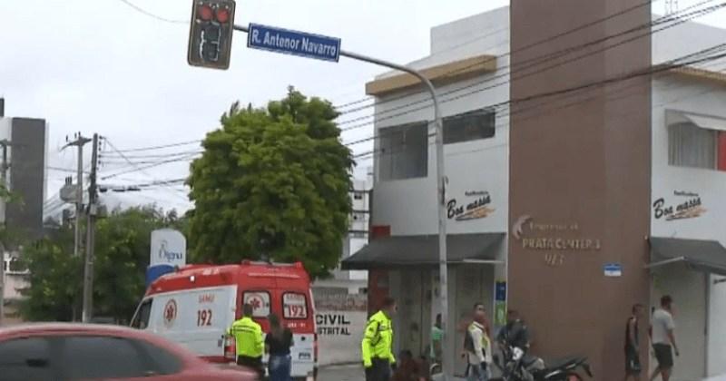 Homem morre após colisão entre moto e ônibus, em Campina Grande
