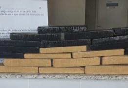 TRÁFICO DE DROGAS: PRF apreende mais de 40 quilos de maconha na Paraíba