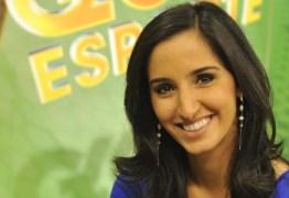 Apresentadora do Globo Esporte anuncia luta contra câncer; VEJA VÍDEO