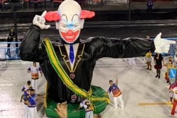 bozo foto 868x644 1 - CRÍTICAS E APLAUSOS: Bolsonaro é representado por boneco do palhaço 'Bozo' em desfile no Rio; VEJA VÍDEO
