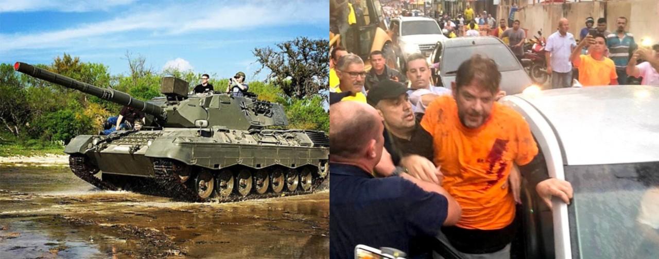 JÁ TEM DOAÇÕES: Internautas não perdem tempo e fazem 'vaquinha' para comprar tanque de guerra para Cid Gomes