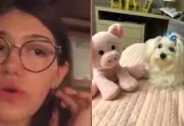 Dona de cachorrinha atropelada diz que versão de Môfi não bate e diz que não foi procurada por ele- VEJA VÍDEO