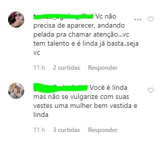 eduarda 04 - A GAROTINHA CRESCEU: Seguidores se chocam com roupas sensuais de Eduarda Brasil, campeã do The Voice Kids