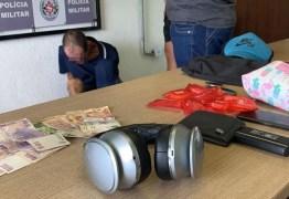 Homem é preso suspeito de furtar turistas em hotéis, em João Pessoa
