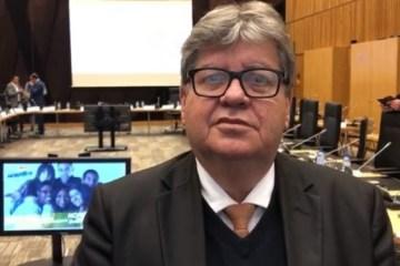 joao azevedo 750x375 - Decisão do STJ sobre liberdade de RC corrobora com inexistência de motivação para impeachment de João Azevêdo