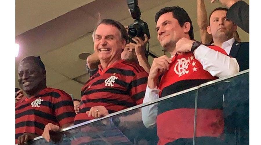 moro flamenrgo bolsonaro - Antes de depoimento, Bolsonaro chama Moro de 'Judas'