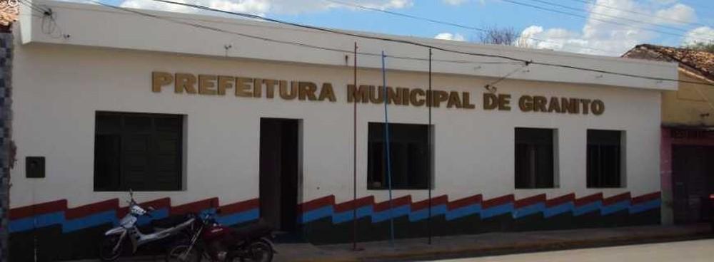 prefeitura de granito - Abertas inscrições de concurso público para Prefeitura de Granito