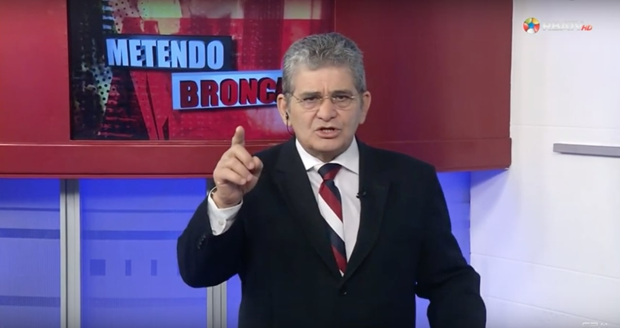 screen shot 2020 02 20 at 12 07 12 - Apresentador da Band é demitido após ofender jornalista da Folha durante discurso; confira