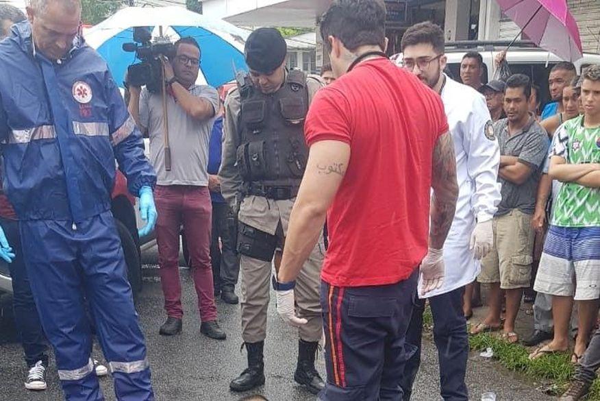suspeito de praticar assaltos e assassinado com tiro nas costas em joao pessoa foto whatsapp - Homem é assassinado a tiros no Centro de João Pessoa
