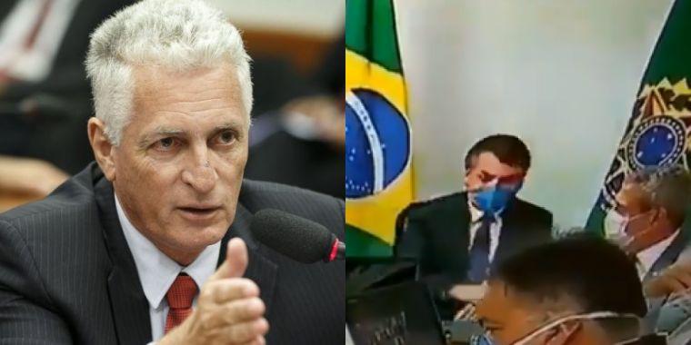 1584802954690818 - 'É DOMÍNIO PÚBLICO': Deputado federal Rogério Correia acha que Bolsonaro está com COVID-19 e pede que ele mostre exames - EM VÍDEO BOLSONARO TOSSE