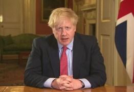 Primeiro-ministro da Inglaterra anuncia que está com coronavírus