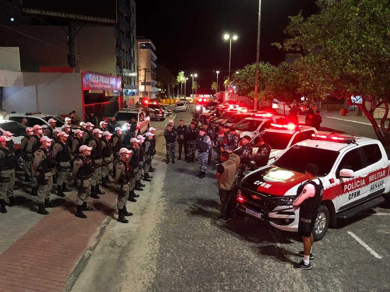 75d45280 7cd1 444e a7b8 839a70ded9ab - OPERAÇÃO PREVINA-SE: atendendo uma determinação do governador, comboio da Polícia Militar inicia operação pelos bairros de João Pessoa - VEJA VÍDEO