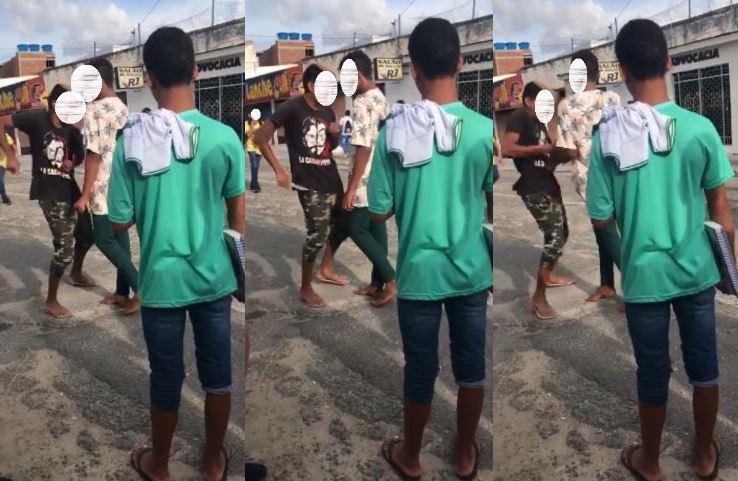 ADOLESCENTE - Adolescente esfaqueia colega após briga em escola - VEJA VÍDEO