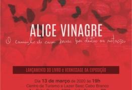Sesc lança livro e exposição de Alice Vinagre em João Pessoa