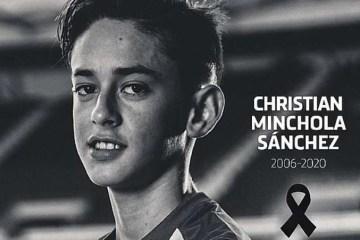 Faleceu aos 14 anos de idade jovem promessa do Atlético de Madrid