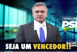 DE OLHO NA ELEIÇÕES: Julian Lemos convoca lideranças políticas para filiação ao PSL – VEJA VÍDEO