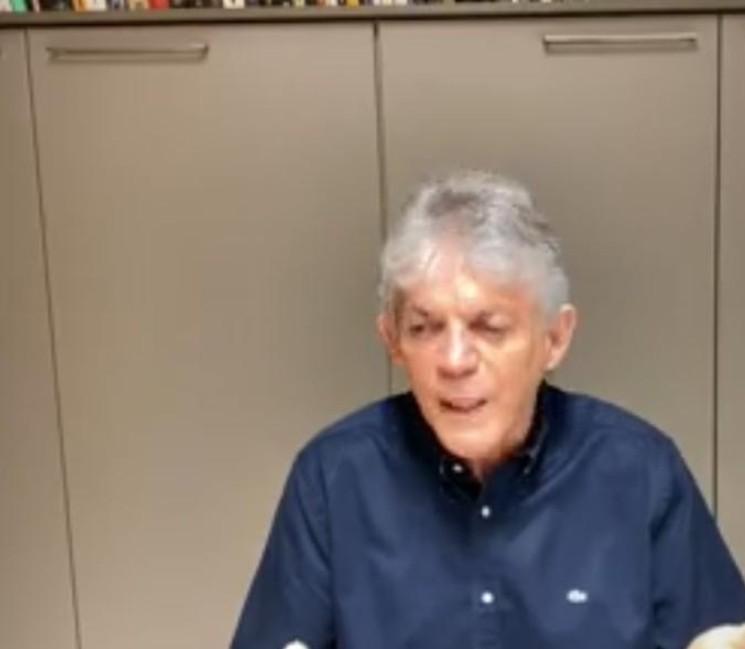 Capturar 45 - Em live, Ricardo Coutinho critica medidas do Estado e prefeitura sobre coronavírus