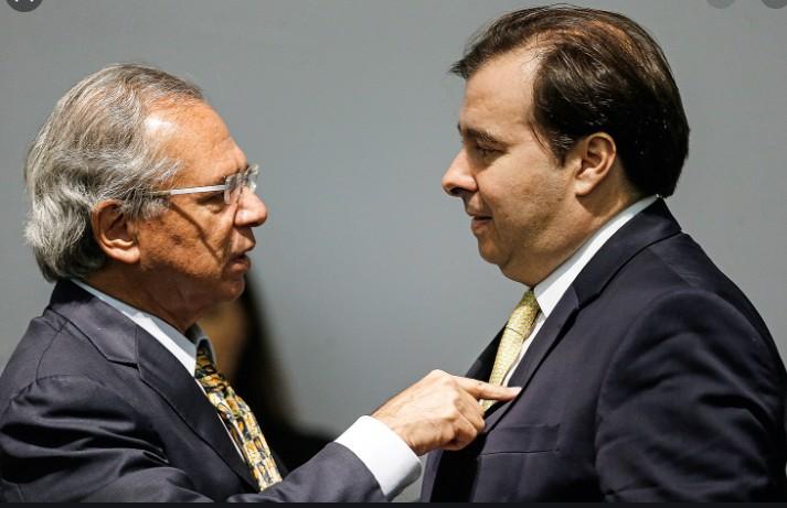 Maia rebate Guedes sobre auxílio de R$ 600 e acusa governo de ...