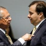 Capturar 92 - Maia rebate Guedes sobre auxílio de R$ 600 e acusa governo de mentir em ação ao STF