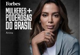 Anitta foi eleita uma das mulheres mais poderosas do Brasil