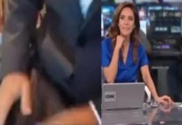 Repórter da CNN Brasil mostra calça ao vivo e deixa Monalisa Perrone constrangida – VEJA VÍDEO