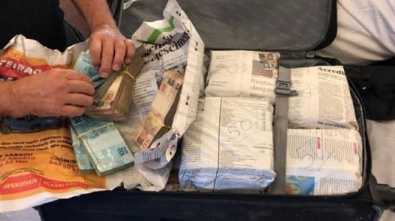 Dinheiro em mala - CORONAVÍRUS: dinheiro apreendido na 'Calvário' é usado para compra de 15 respiradores para PB