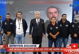 """Após Sikêra Jr. escalar """"jumento"""" para orar por Bolsonaro em entrevista, jornalista do """"The Guardian"""" reage"""