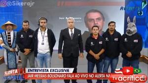 "SIKERA JUMENTO BOLSONARO 300x169 - Após Sikêra Jr. escalar ""jumento"" para orar por Bolsonaro em entrevista, jornalista do ""The Guardian"" reage"