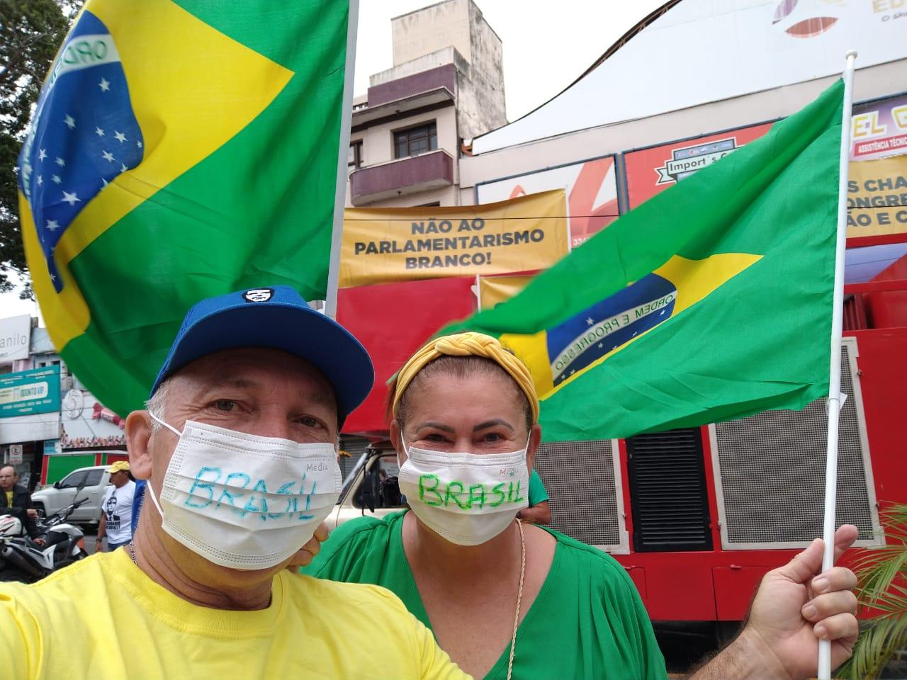 WhatsApp Image 2020 03 15 at 15.28.16 - Pâmela Bório participa de carreata pró-Bolsonaro: 'Corrupção mata mais que coronavírus'; VEJA VÍDEO