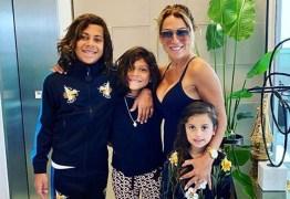 Ex-mulher de Hulk chega neste sábado para passar a quarentena com os filhos na Paraíba