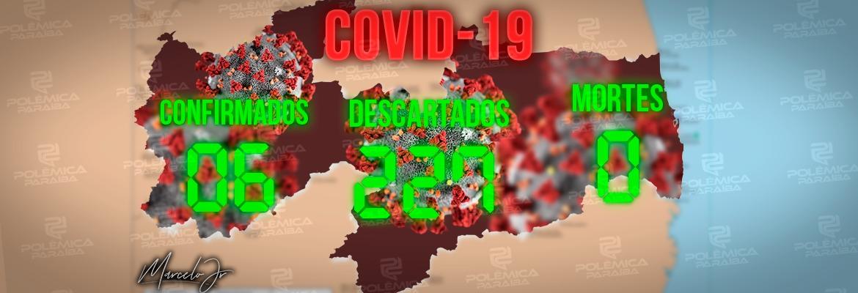 WhatsApp Image 2020 03 26 at 18.14.43 1 - Sobe para 6 o número de pacientes confirmados para Covid-19 na PB; internações 'graves' também aumentam