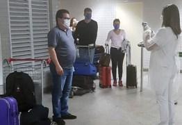 Agevisa, Polícia Militar e Bombeiros realizam barreira sanitária no Aeroporto Castro Pinto