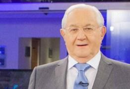 GRUPO DE RISCO: Coronavírus afasta Boris Casoy da Rede TV!
