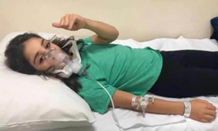 corona adolescente - Menina de 10 anos relata dias na UTI com coronavírus: 'Mesmo com cilindro de oxigênio eu me sentia muito mal'